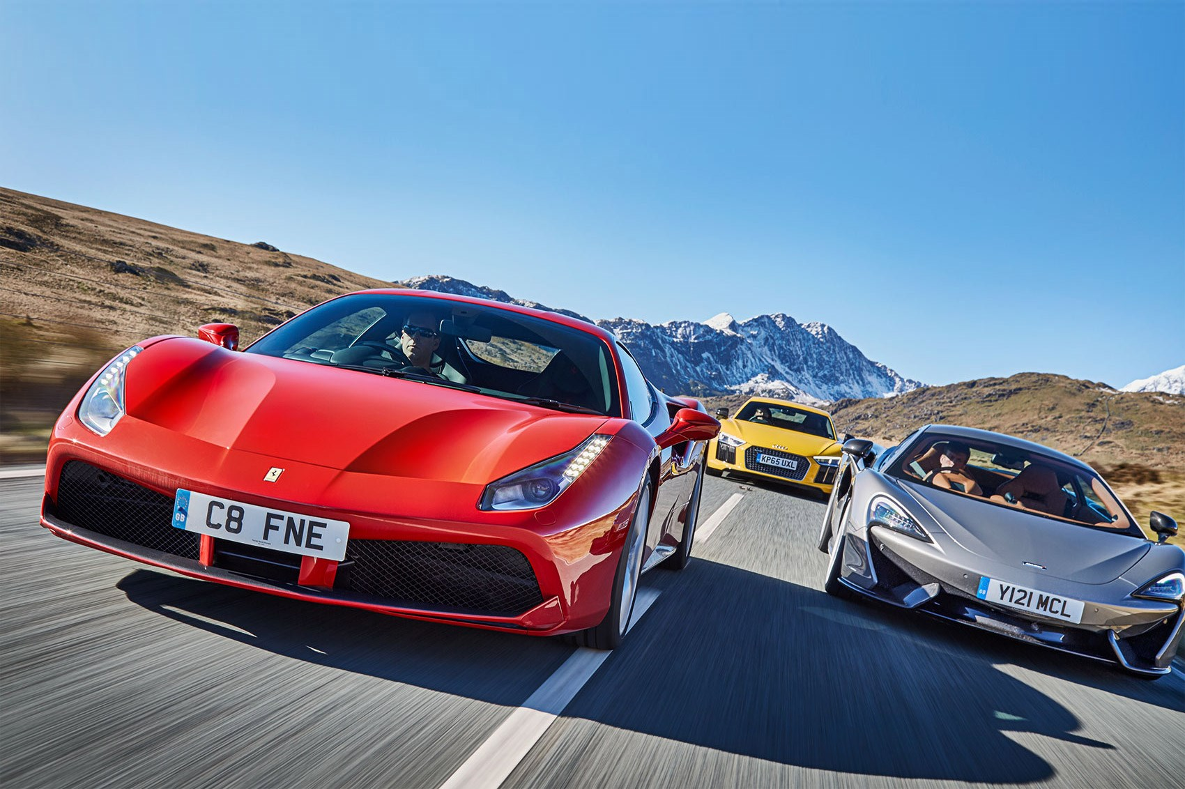 Our Kind Of Eu Summit Ferrari 488 Gtb Vs Mclaren 570s Vs