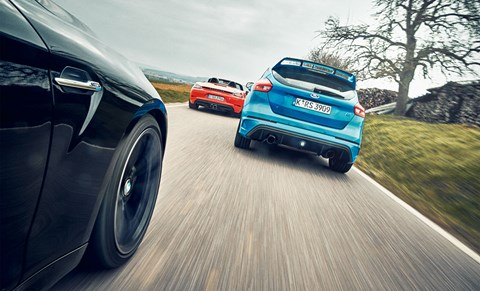 Boxster vs M2 vs Focus RS