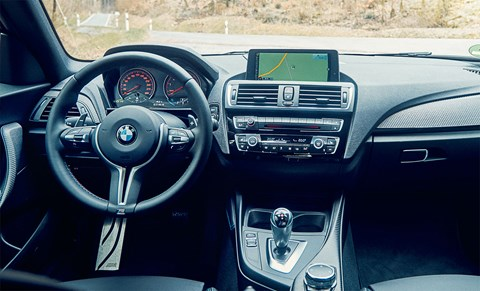 BMW M2 cabin