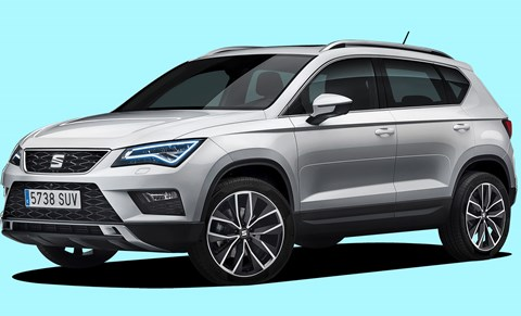 Seat Ateca dispenses with frippery to deliver a striking pose. Best of the VW Group SUVs?