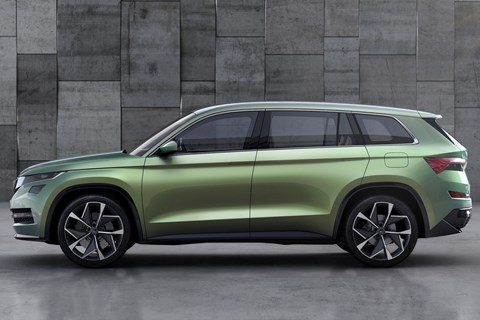 The Skoda Vision S concept: SUVs are coming...