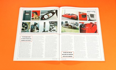 'This thoroughly modern car reflects the desires and prejudices of just one man'