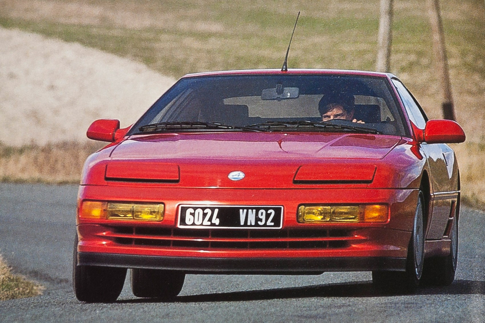 Plastic Fantastic Alpine A610 Tested Car Archive April 1991 By Car Magazine