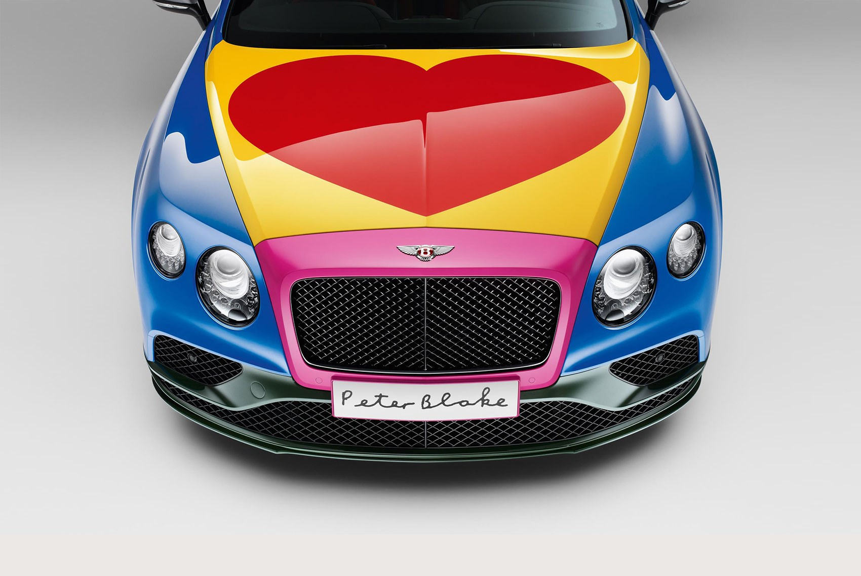 The Pop Art Bentley Peter Blake Spices Up A Conti Car