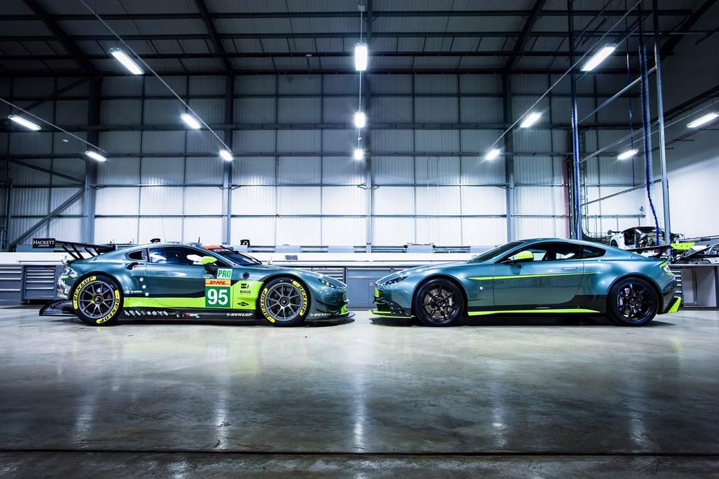 cdfca608c3b An unfair ad-Vantage  new race-bred Aston Martin Vantage GT8 ...
