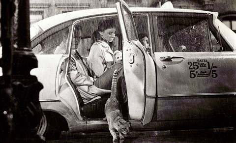 The New York cab in Breakfast at Tiffany's