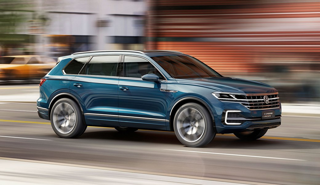 Volkswagen T Prime Concept Gte It S A Preview Of Next Touareg By