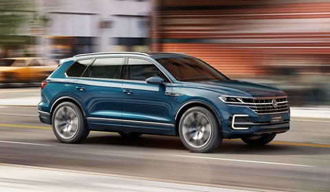 See the VW SUV concept at the Beijing motor show