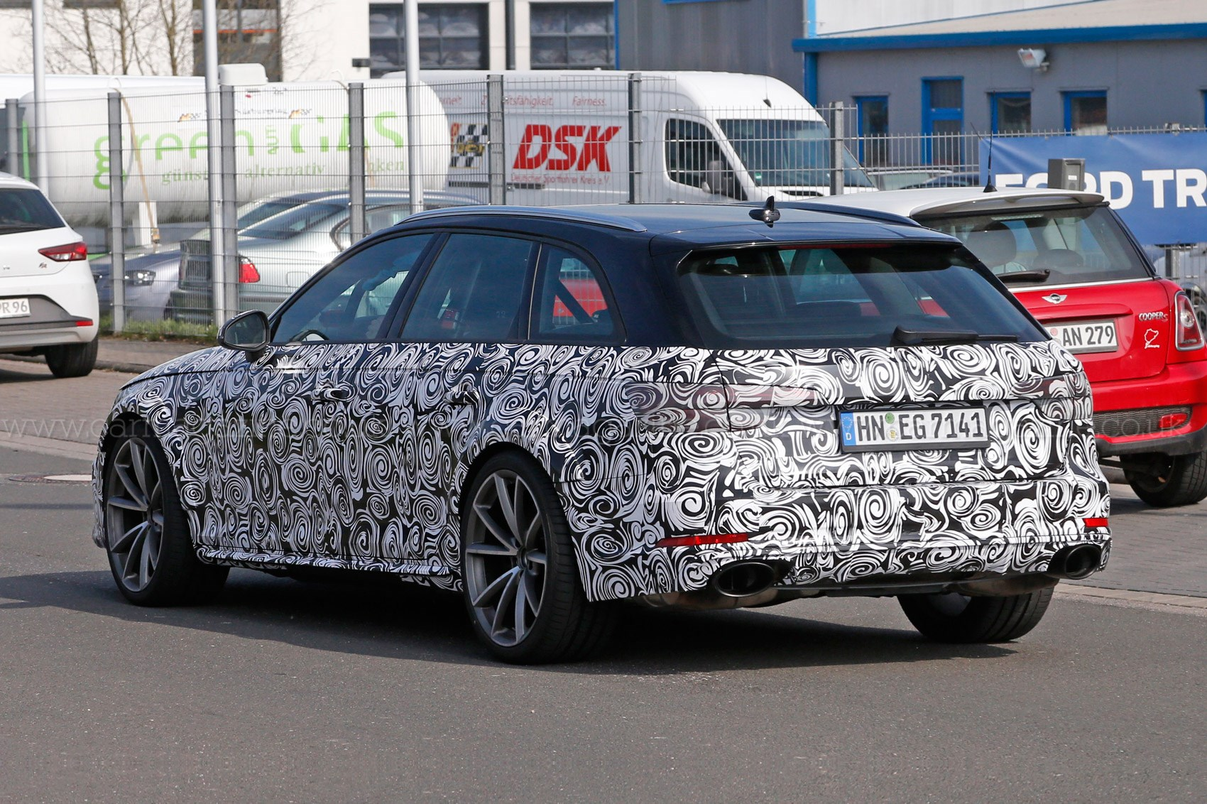 2016 Audi Rs4 Avant Spy Shots