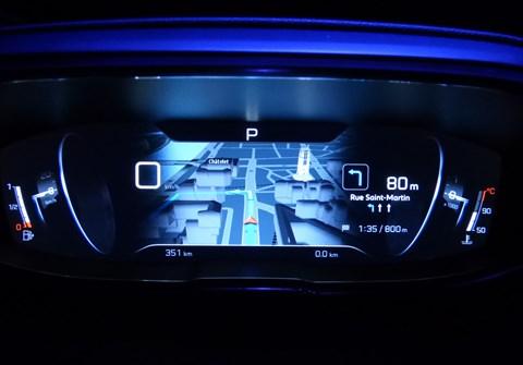 Peugeot i-Cockpit in action