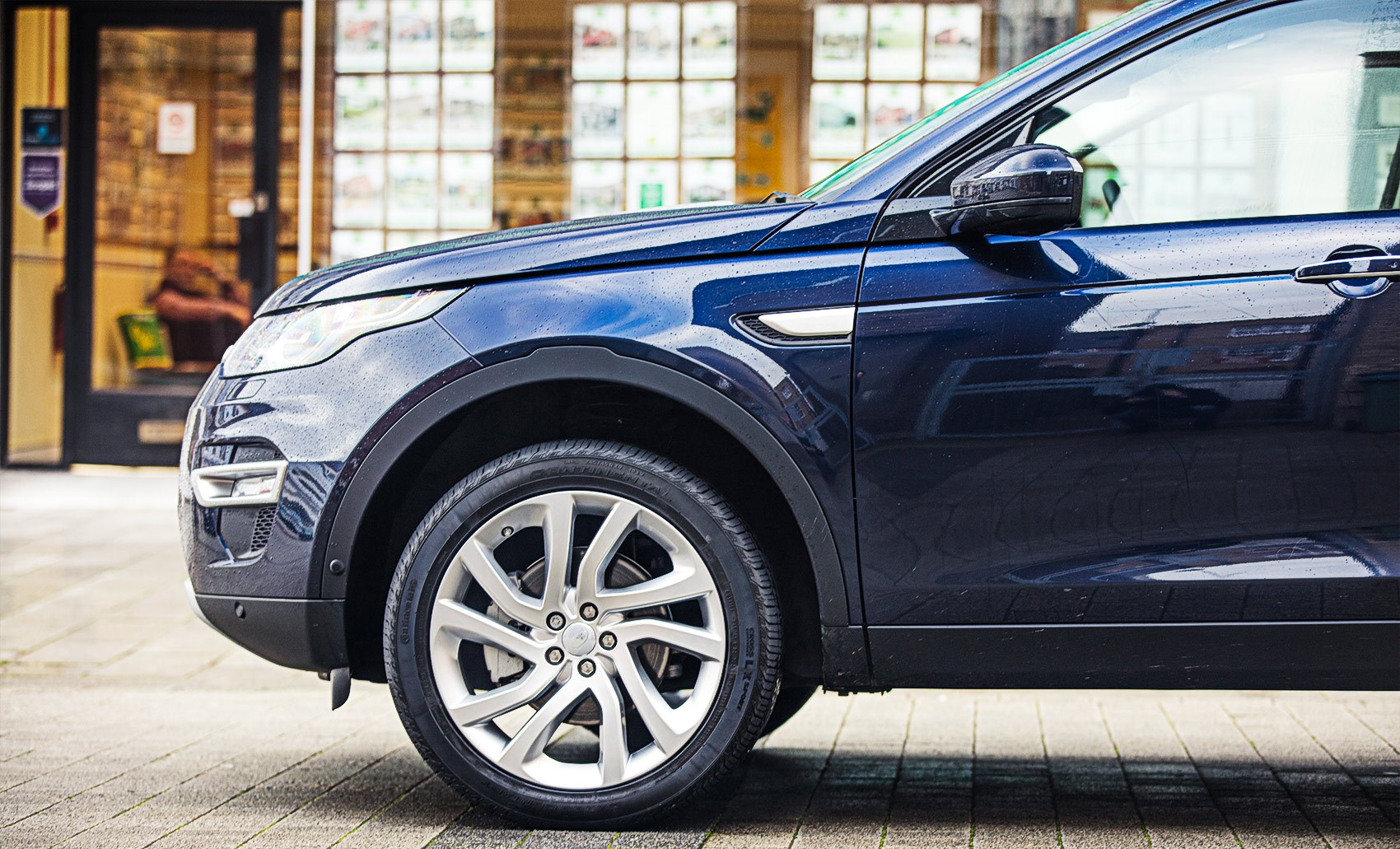 Spot the evoque styling cues yet chocolate leather in our discovery sport cabin chocolate leather in our discovery sport cabin car s new land rover