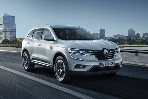 Renault Koleos 2017 front tracking