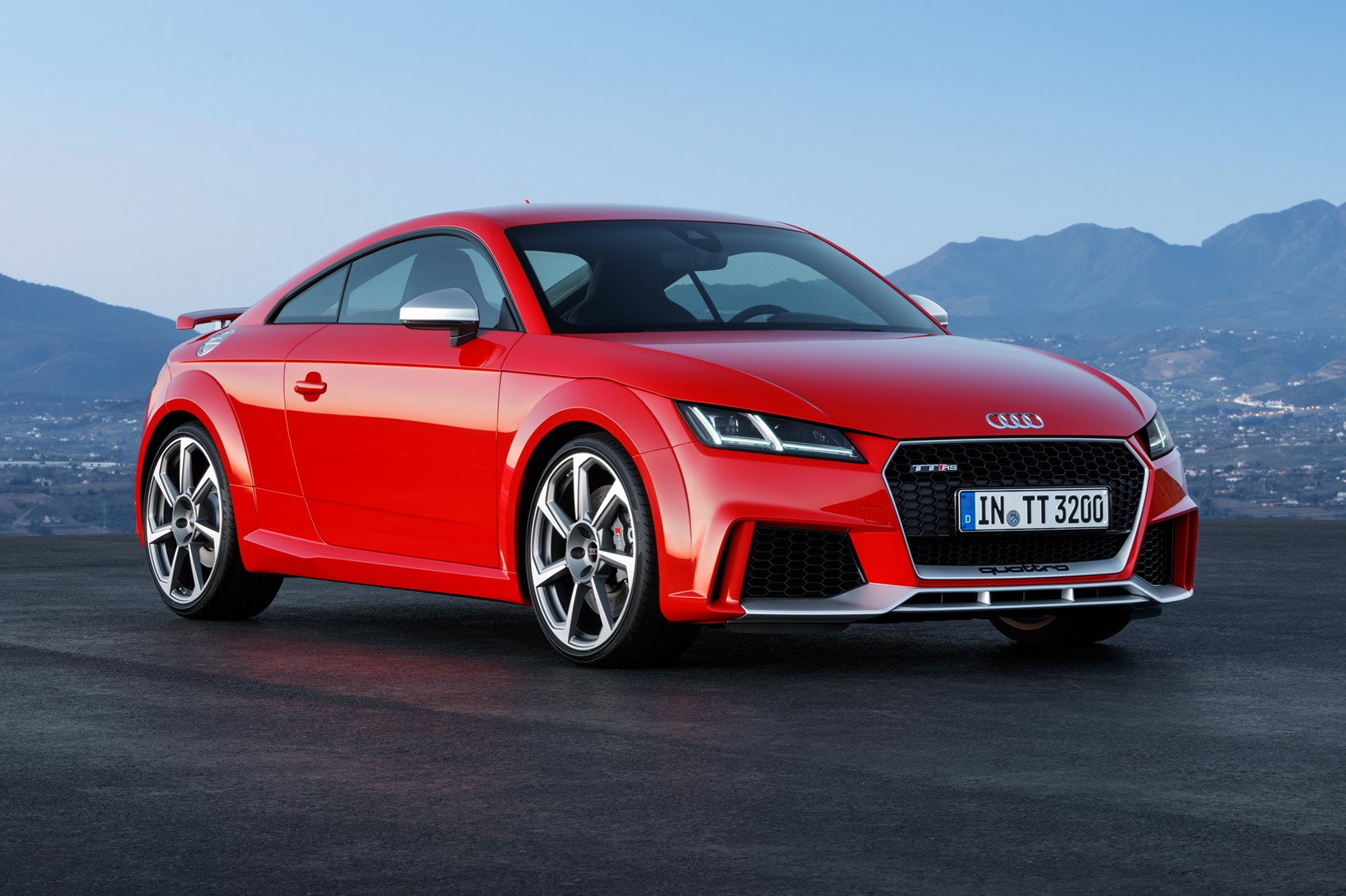 audi goes porsche hunting with new 395bhp tt rs coupe and roadster by car magazine. Black Bedroom Furniture Sets. Home Design Ideas