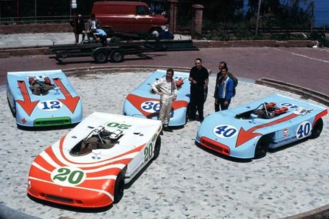 Flat-eight engined Porsche 908s