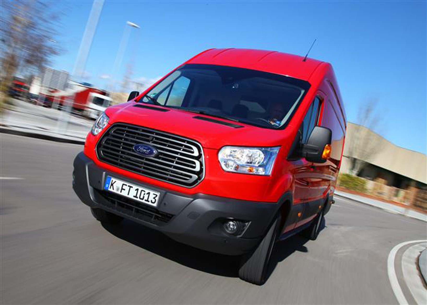 Diesel engine ecoblue engines will appear in transit vans first before being rolled out across certain ford car models