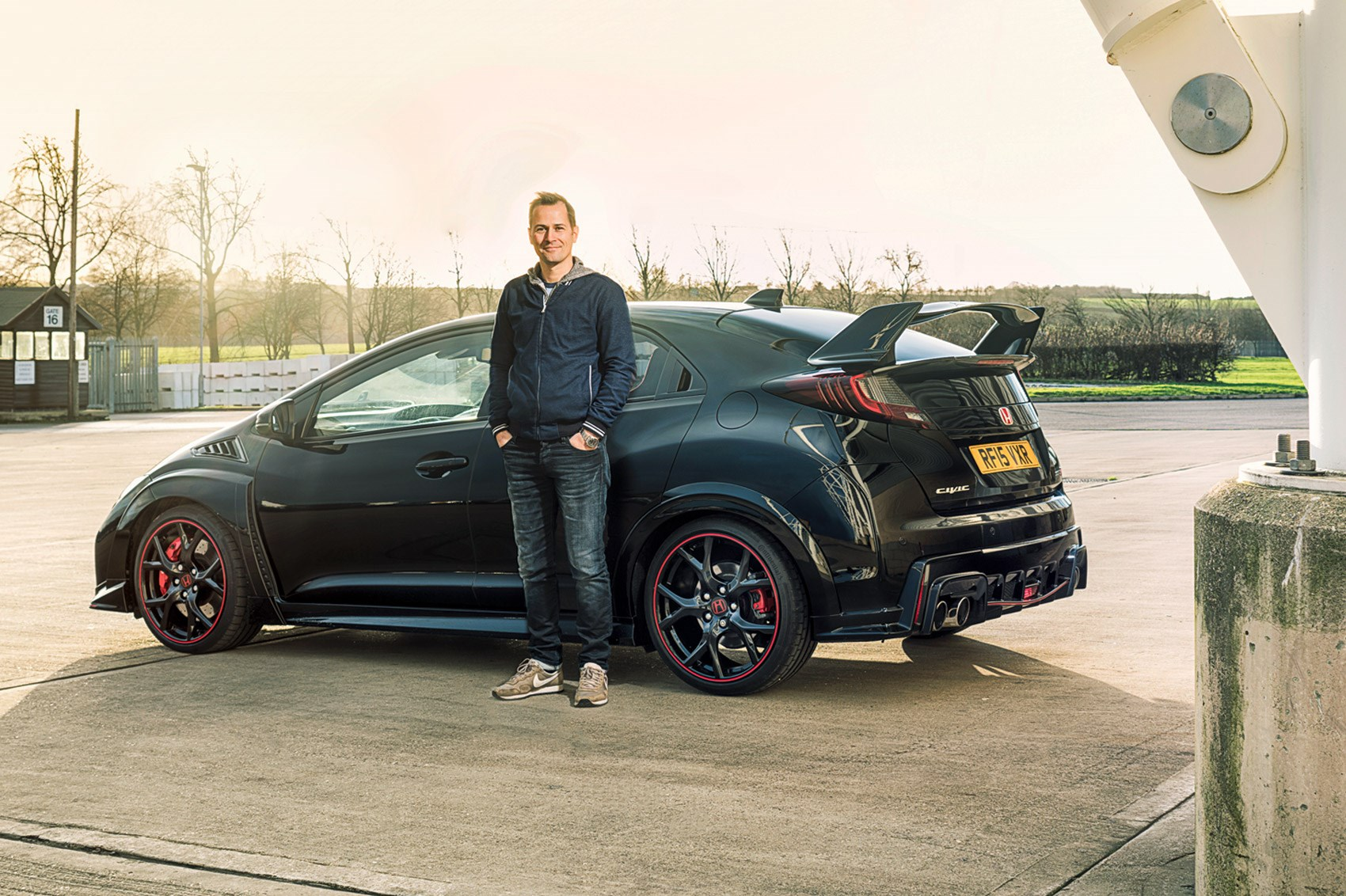 The Type R Looks Like Some Kind Of Stealth Machine In Black ...