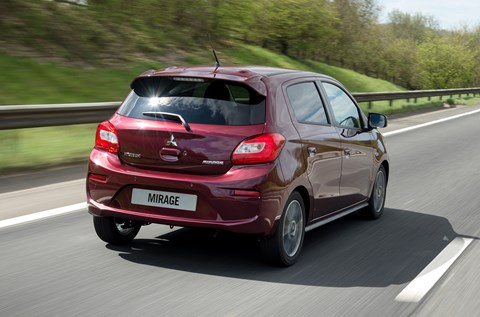 Mitsubishi Mirage Juro: Mitsubishi relaunches (and renames) Mirage city car for 2016 by CAR Magazine