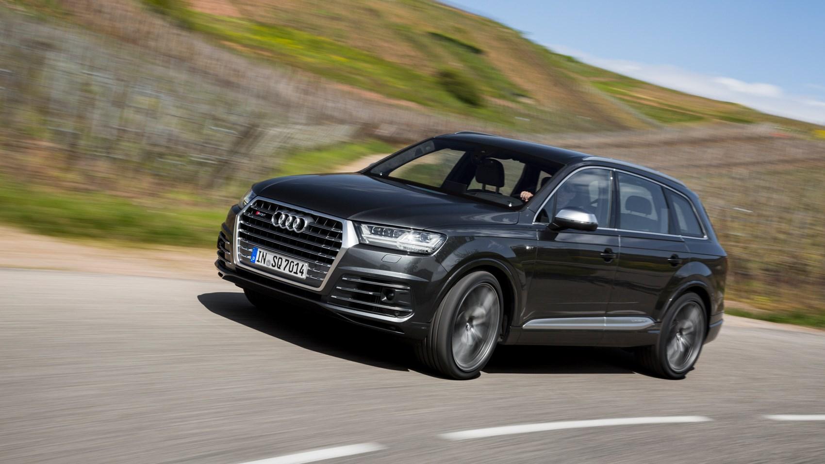 Audi audi sq7 tdi : Audi SQ7 TDI = the most powerful diesel SUV on the market 435hp ...