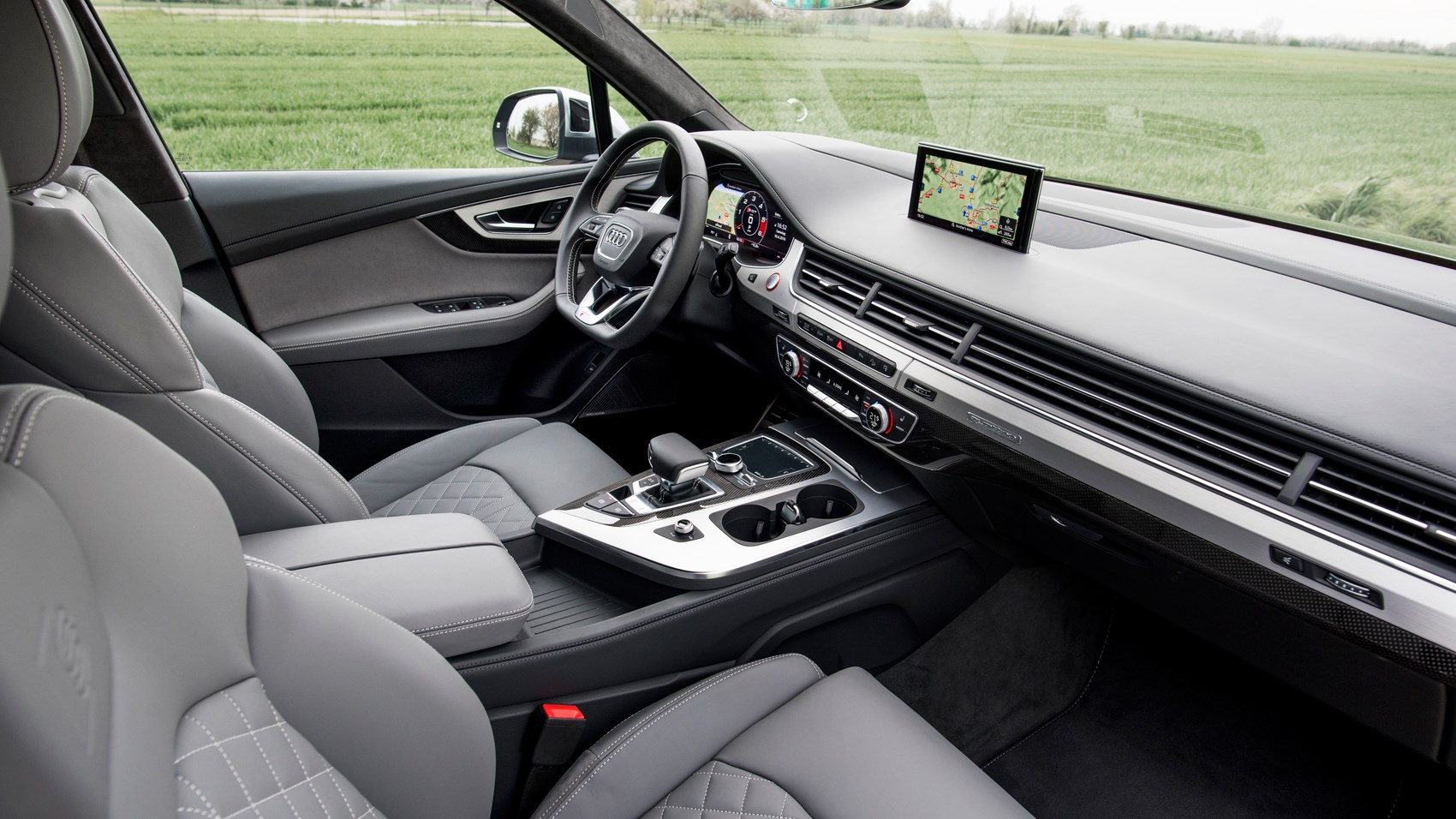 Audi Sq7 Tdi 2016 Review By Car Magazine