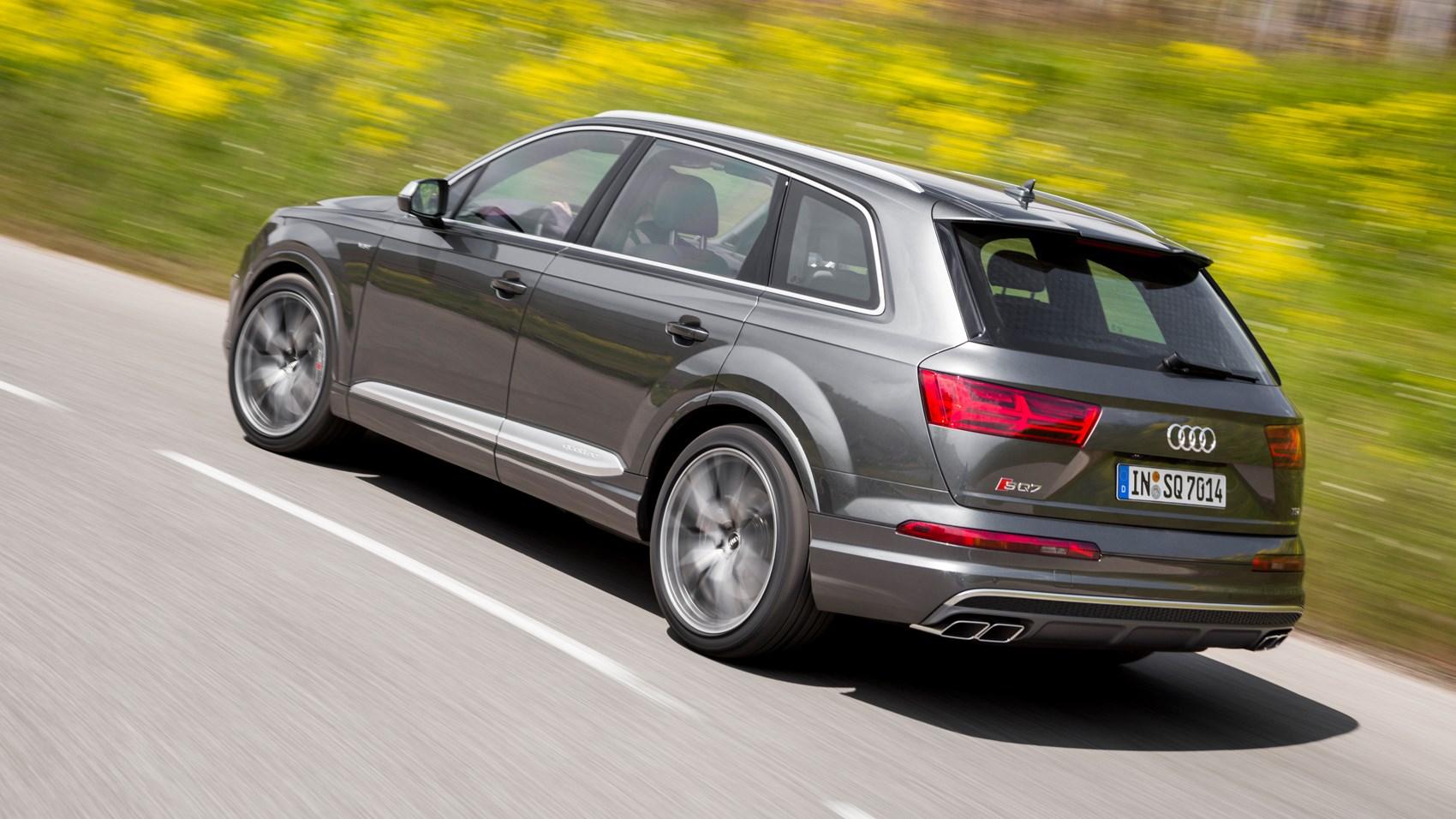 Audi Sq7 Tdi 2016 Review By Car Magazine