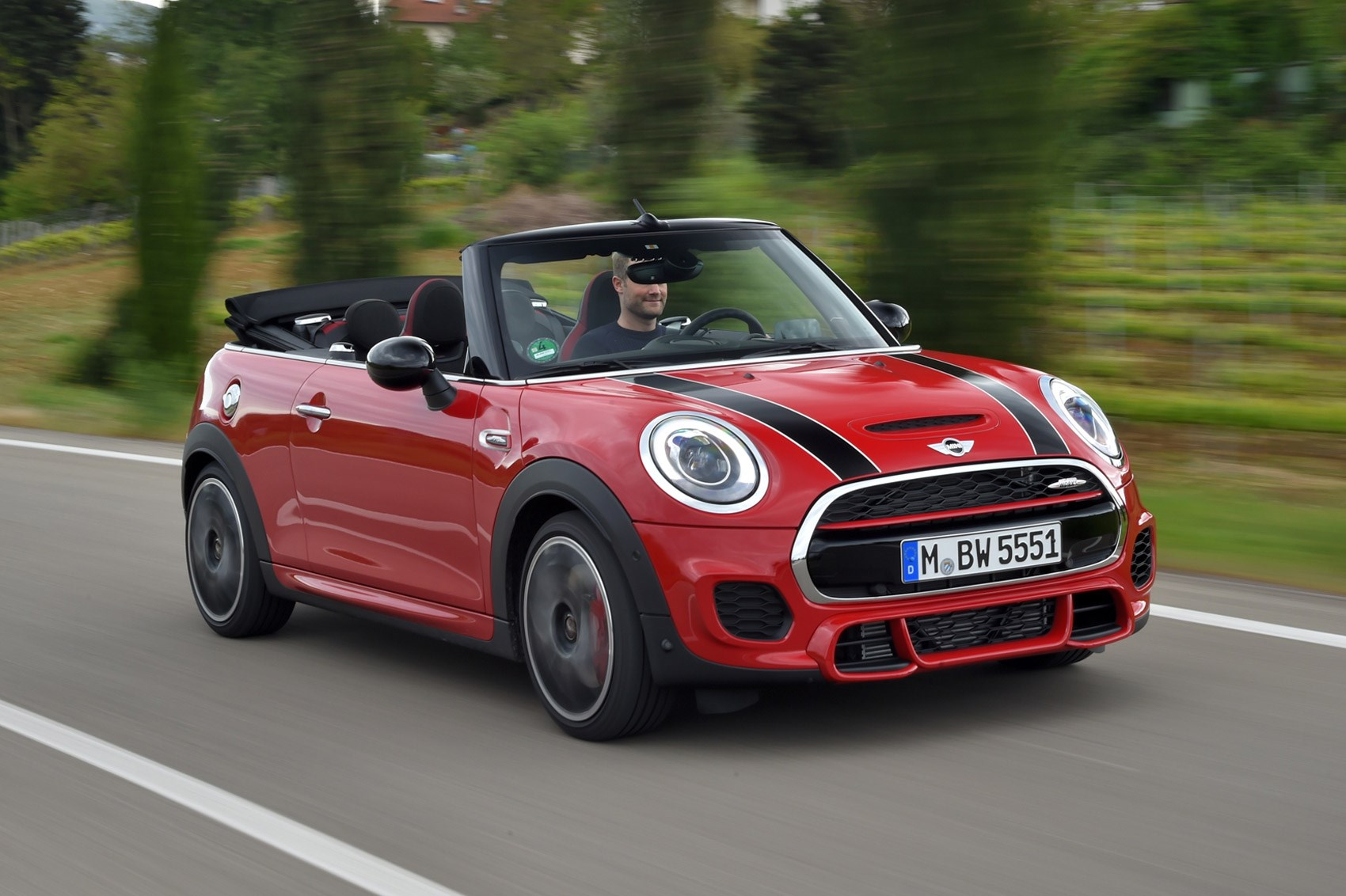 mini john cooper works convertible 2016 review by car magazine. Black Bedroom Furniture Sets. Home Design Ideas