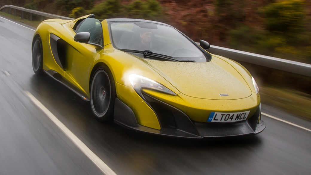 Mclaren 675lt Spider 2016 Review