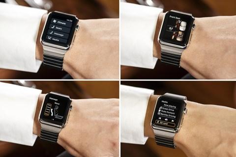How the Bentley Apple Watch app works