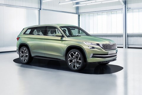 The Vision S concept points to new 2016 Skoda crossover
