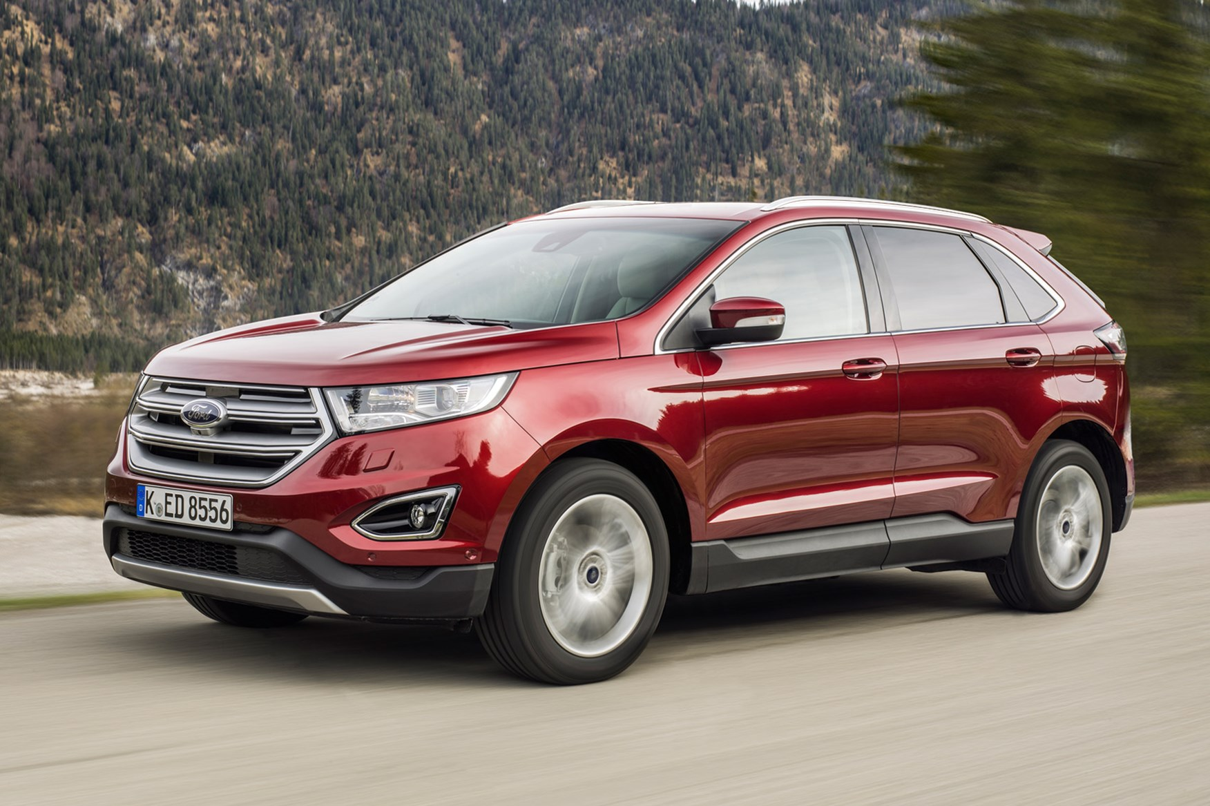 Ford Edge   Tdci Titanium Powershift  Review