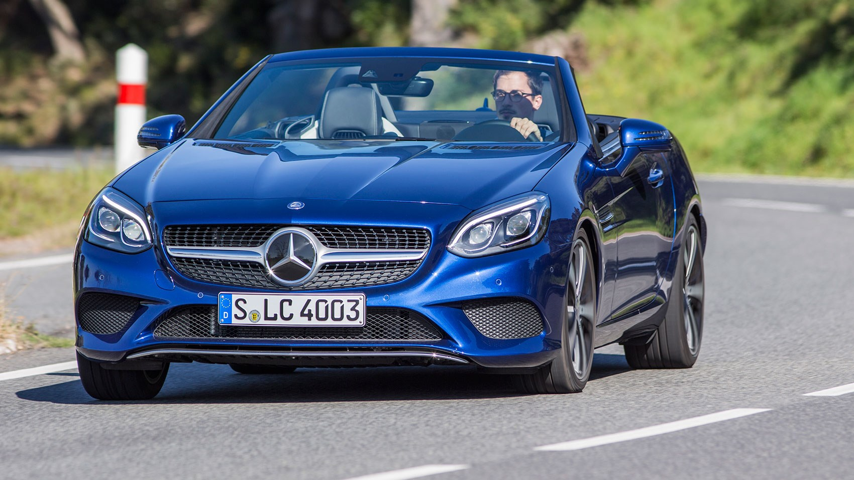 Mercedes Benz Slc 300 2016 Review By Car Magazine