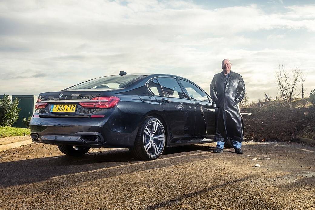 Keeper Greg Fountain And CARs Black BMW 7 Series