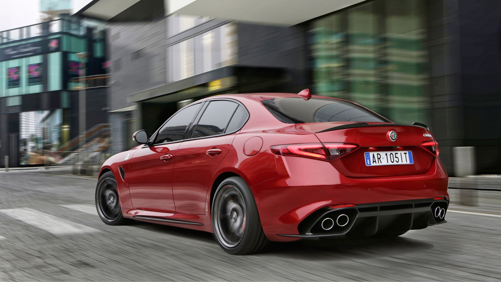 alfa romeo giulia quadrifoglio 2016 review by car magazine. Black Bedroom Furniture Sets. Home Design Ideas