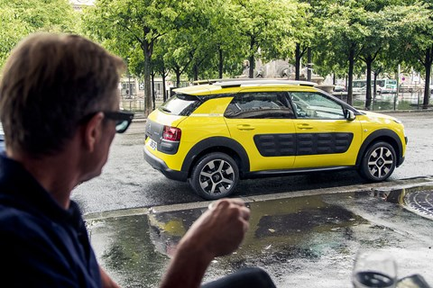 Airbumps lend Citroen C4 Cactus a quirky style