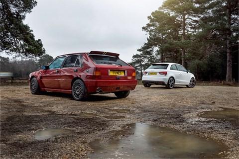 Lancia Delta Integrale or Audi S1?