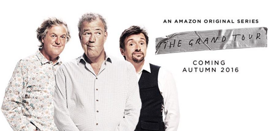 The Grand Tour TV Show Jeremy Clarkson Richard Hammond James - Jeremy clarkson new car show