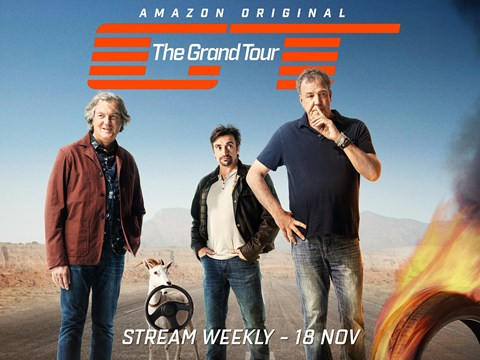 The Grand Tour: due to be screened from 18 November