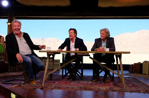 Filming The Grand Tour in California