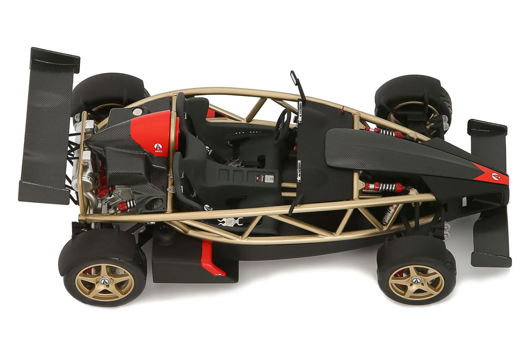The lightest Ariel Atom yet: The lightest Ariel Atom yet: officially a  pain-to-make scale model released a bugger-to-make production run scale  model ...