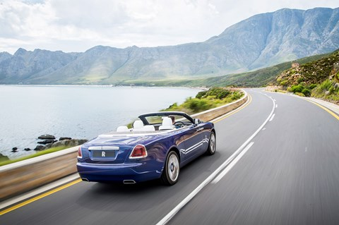 Rolls-Royce Dawn in South Africa