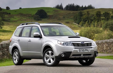 The diesel Subaru Forester