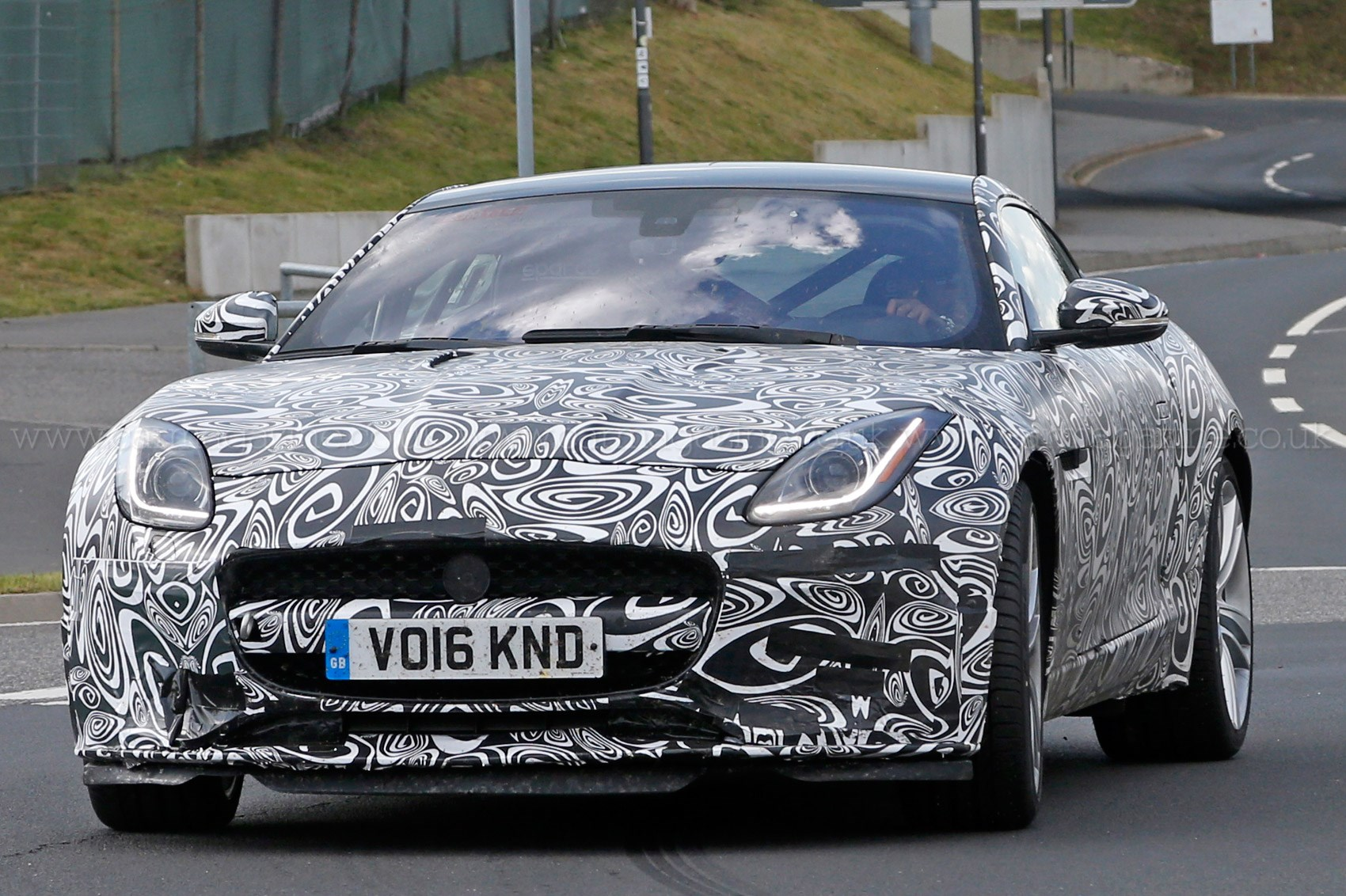 Neutered Cat Steps Out Fourcylinder Jaguar Ftype Spotted By CAR - 4 cylinder jaguar