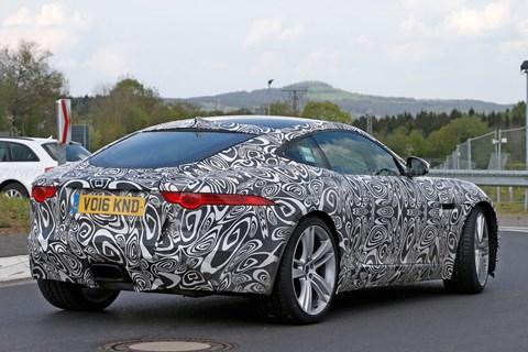 Jaguar F-type four-cylinder spy shots