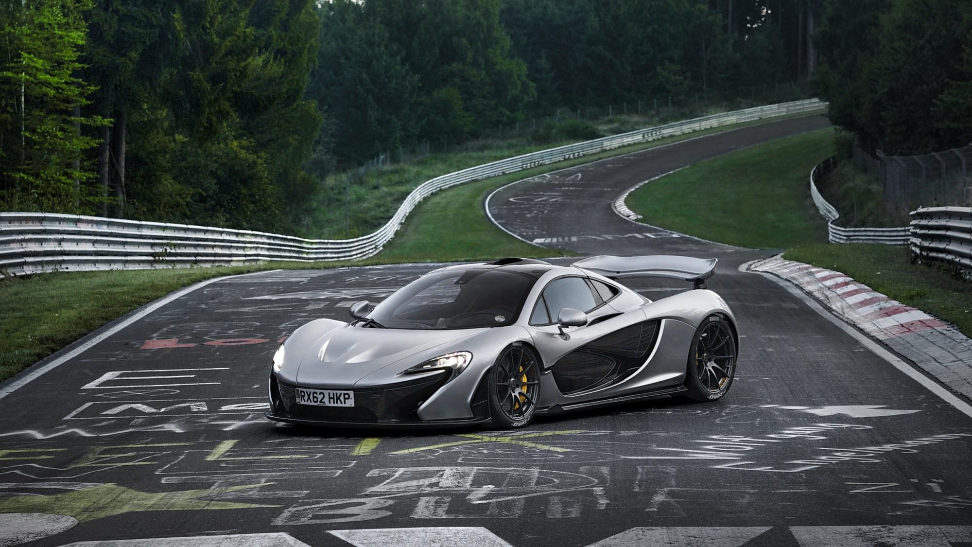McLaren P1 at the Nurburgring