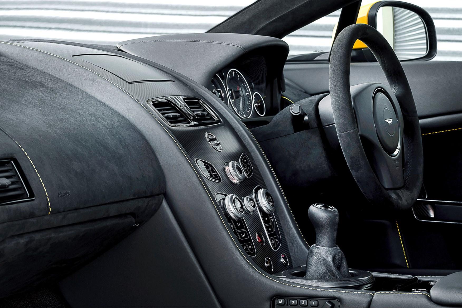 Aston Martin V12 Vantage S Manual First Drive  Car  June