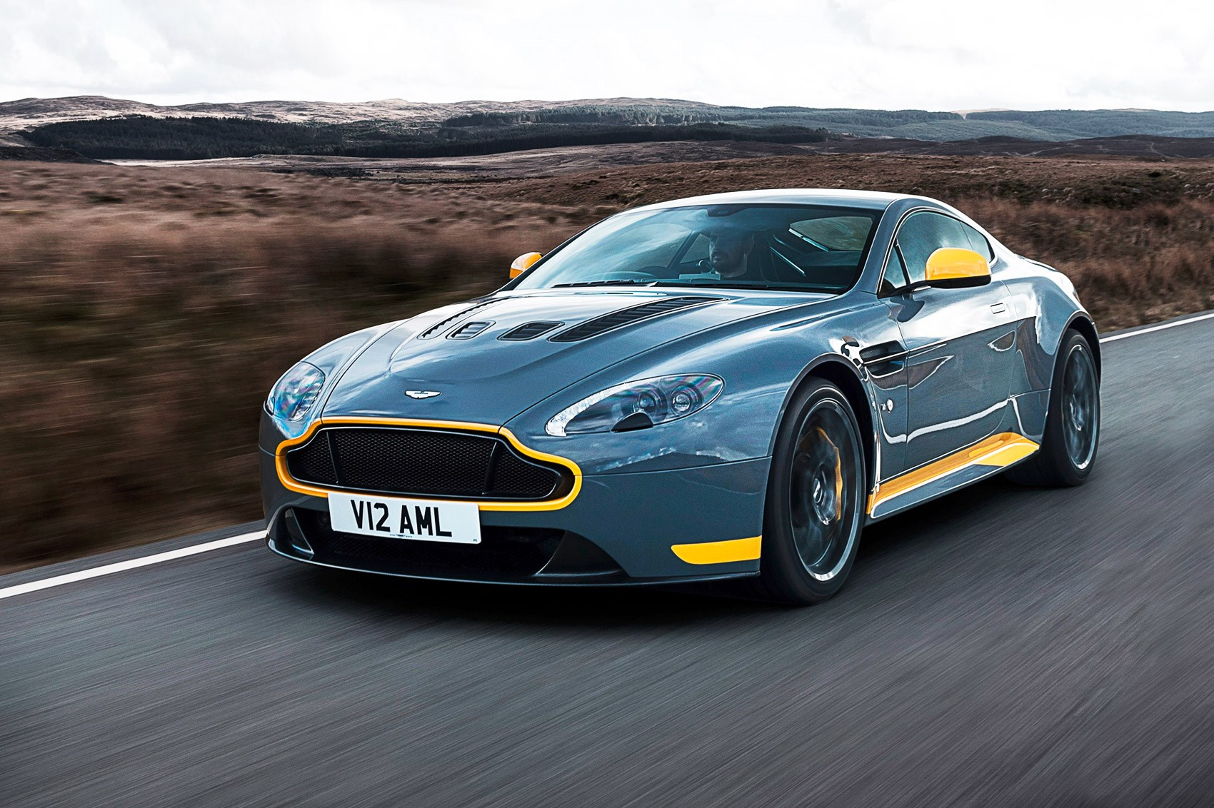Aston Martin V12 Vantage S Manual First Drive Car June 2016