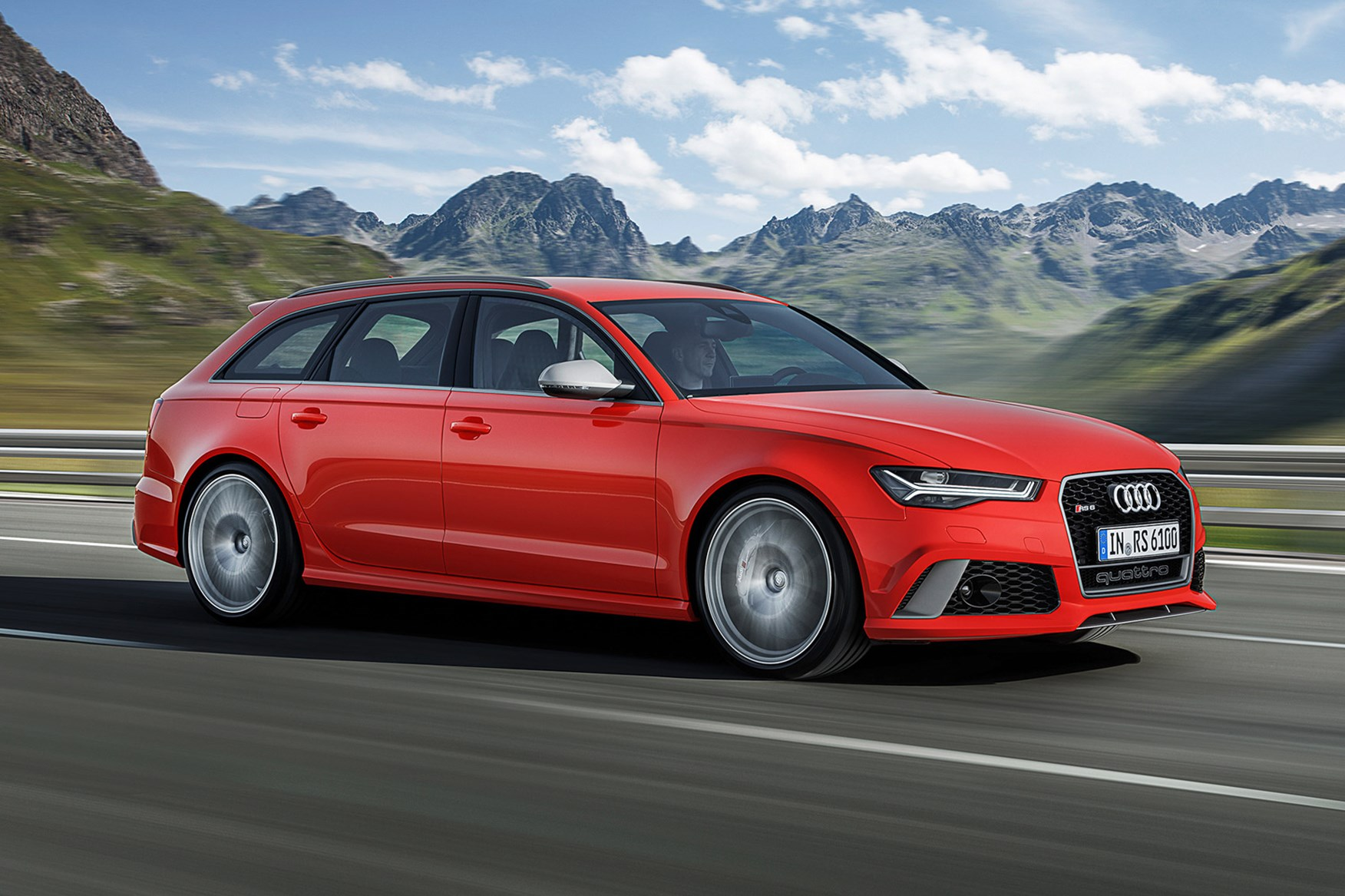 Audi Rs6 Avant Performance First Drive Car June 2016 By Car Magazine