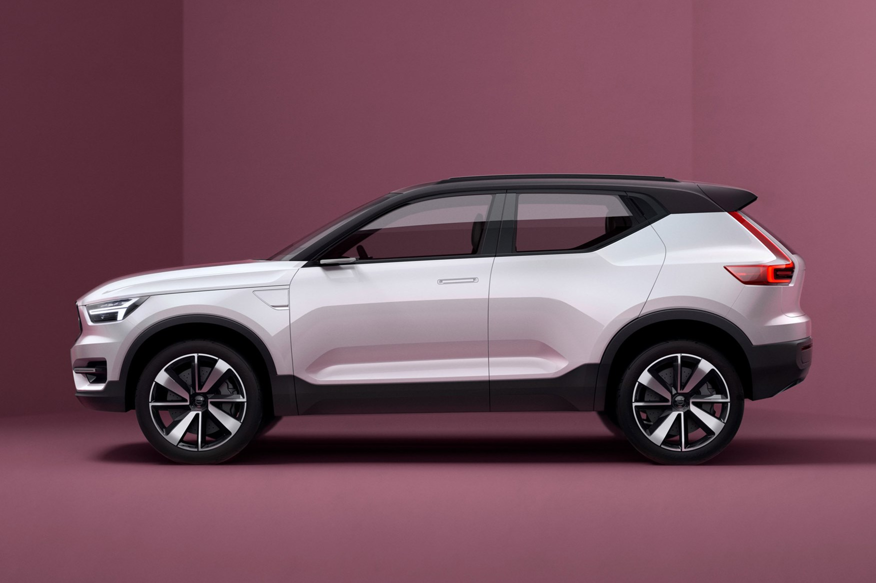 volvo previews new 40 series models with double concept car unveil by