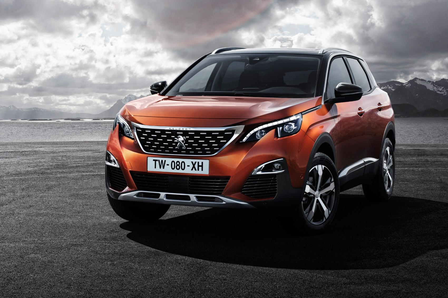 Peugeot 3008 revealed a new SUV look for Pugs 2016 family