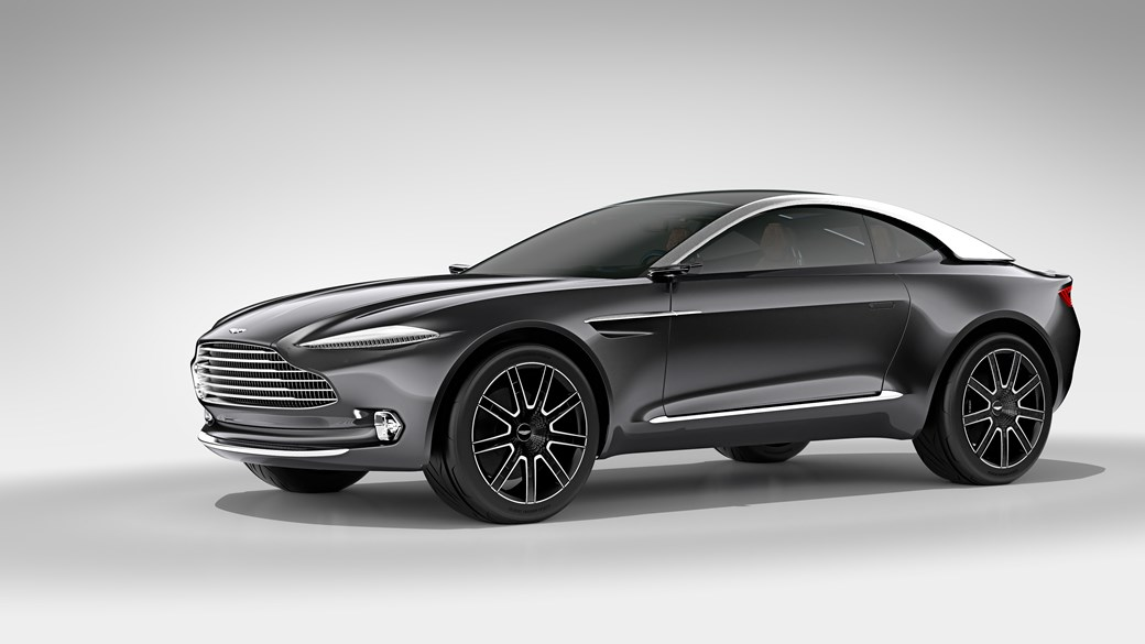 Charming The 2019 Aston Martin DBX Crossover