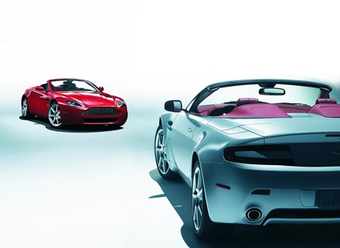 The outgoing Aston Martin V8 Vantage Roadster: replaced in 2018